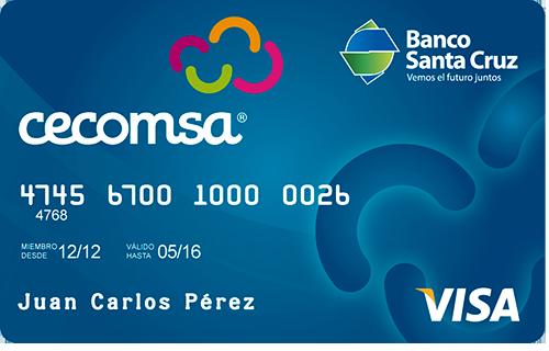 Visa Crédito Cecomsa