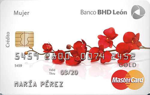 Mastercard Gold Mujer
