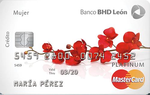 Mastercard Platinum Mujer