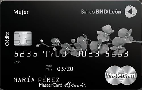 Mastercard Black Mujer