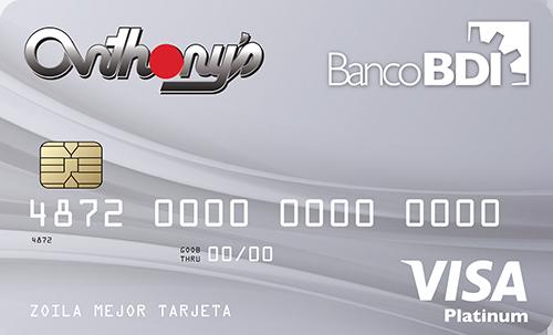 Visa Anthony's Platinum