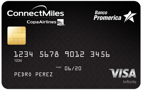 Visa Infinite ConnectMiles de Copa Airlines