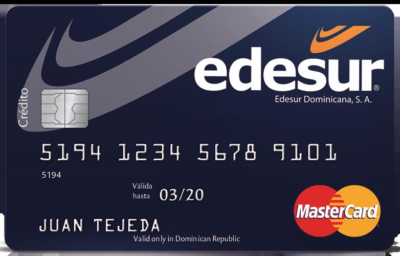 MasterCard Edesur Standard Internacional