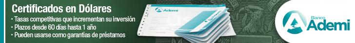 Certificado de Depósito en Dólares