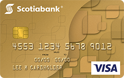 Scotiabank Gold Visa