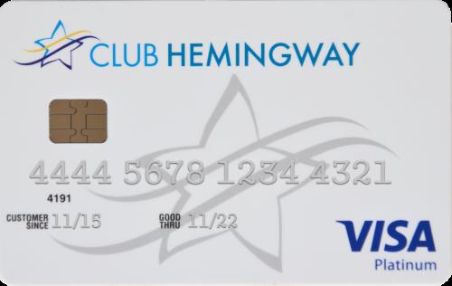 Visa Club Hemingway