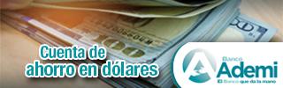 Cuenta de Ahorro con Libreta en Dolares