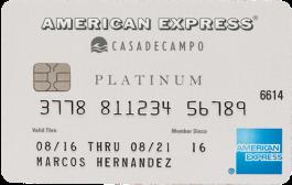 La Tarjeta Casa de Campo Platinum American Express®