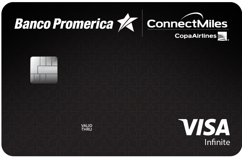 Visa Infinite ConnectMiles de Copa Airlines Promerica